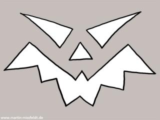 Halloween Kürbis Malvorlage