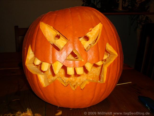 Halloween-Kürbiskopf
