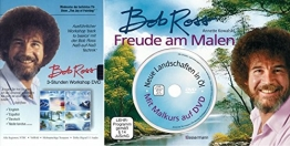 Happy Painting mit BOB ROSS WORKSHOP / MALKURS 2 DVD + Buch FREUDE AM MALEN -
