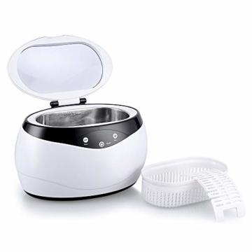 himaly Ultraschallreiniger,650ML Ultraschallreiniger Reinigungsgerät Ultraschallreinigungsgerät Reiniger Reinigungswerkzeug Reinigung von Schmuck Uhren Brillen Zahnersatz - 1