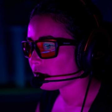 Horus X – Blaulicht-Brille GAMING 2.0 - Ruhebrille Ultimativer Schutzfilter - Anti-Blaulicht-Bildschirm (PC-Computerkonsolen-Videospiele) - Gamer & e-Sportzubehör - Männer und Frauen (Unisex) - 7