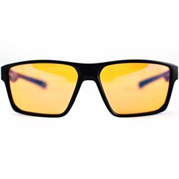 Horus X – Blaulicht-Brille GAMING 2.0 - Ruhebrille Ultimativer Schutzfilter - Anti-Blaulicht-Bildschirm (PC-Computerkonsolen-Videospiele) - Gamer & e-Sportzubehör - Männer und Frauen (Unisex) - 9