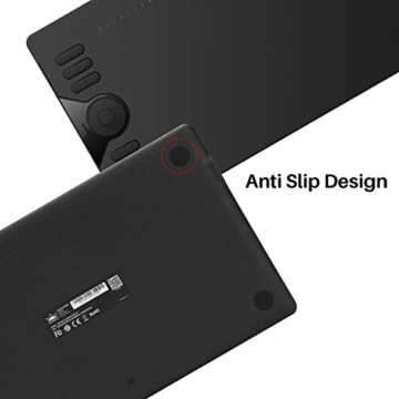 HUION Grafik-Grafiktablett HS610 10 x 6,25 Zoll Tilt-Funktion Das batteriefreie Stifttablett mit 12 + 16 Express-Tasten unterstützt OS Android 6.0 neben Windows und macOS - 6