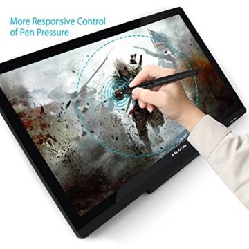 Huion GT-220V2 Schwarz Grafiktablet mit Display 21.5 Inch Interaktive Zeichnung Monitor Display IPS Panel HD Auflösung (1920x1080) - 4