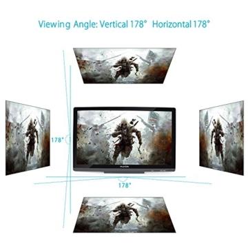 Huion GT-220V2 Schwarz Grafiktablet mit Display 21.5 Inch Interaktive Zeichnung Monitor Display IPS Panel HD Auflösung (1920x1080) - 7