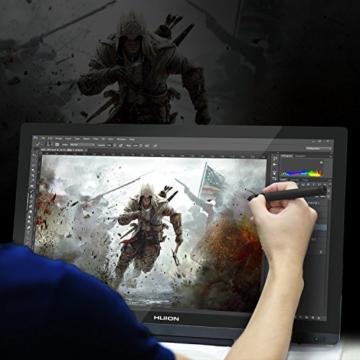 Huion GT-220V2 Schwarz Grafiktablet mit Display 21.5 Inch Interaktive Zeichnung Monitor Display IPS Panel HD Auflösung (1920x1080) - 8