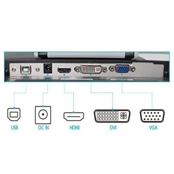 Huion GT-220V2 Schwarz Grafiktablet mit Display 21.5 Inch Interaktive Zeichnung Monitor Display IPS Panel HD Auflösung (1920x1080) - 9