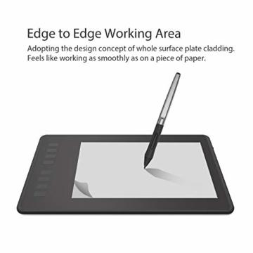 Huion Inspiroy H950P Grafiktablett 8 benutzerdefinierbare ExpressKeys mit batterielosem digitalen Stift Kann Tilt-Funktion aktualisieren - 5