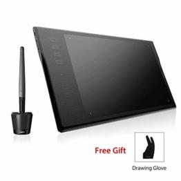 Huion INSPIROY Q11K Wireless Digitales Grafik Zeichnen Stift Tablet mit 8192 Druckstufen und 8 Shortcut Keys Tasten drahtlos ein Freier Handschuh - 1