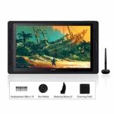 HUION Kamvas Pro 22(2019) 21.5-Zoll-Volllaminierter blendfreier Glas-Bildschirm Grafik-Display mit 20 Hotkeys und 2 Touch-Leisten und verstellbarem Ständer - 1