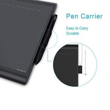 Huion Neu 1060PLUS Grafiktablett Micro USB Zeichen Großformatige mit 8G SD Karte und Wiederaufladbarer Stift - 4