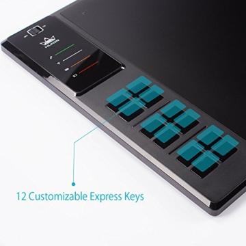 Huion Profi Grafiktablett mit Digitalen Stift Express Keys (WH1409) - 3