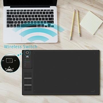 Huion Profi Grafiktablett mit Digitalen Stift Express Keys (WH1409) - 5