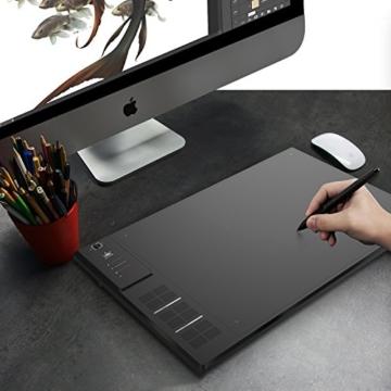 Huion Profi Grafiktablett mit Digitalen Stift Express Keys (WH1409) - 6