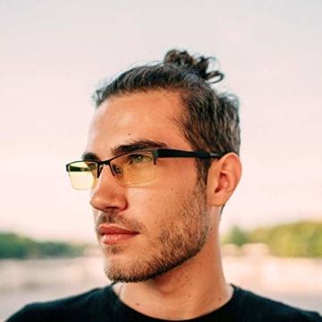 KLIM Optics - Blaulichtfilter Brille + Hoher Schutz + Gaming Brille für PC, Handy und Fernseher + Anti-Müdigkeit, Anti-Blaulicht, UV-Schutz [ Neue 2021 Version ] - 5