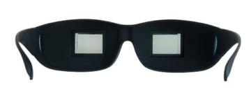 KOBERT GOODS Prisma-Brille 90 Grad Blickwinkel-Funktion ermöglicht das Bequeme Lesen und Fernsehen im liegen Horizontale Sicht ohne Stärke für Entspannte Positionen im Bett und Sofa Lazy Readers - 4