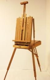 Koffenstaffelei für Kunstmaler