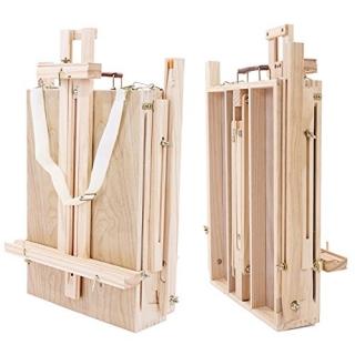 Kofferstaffelei Feld- Tisch- Atelier- Staffelei transportabel 181 cm