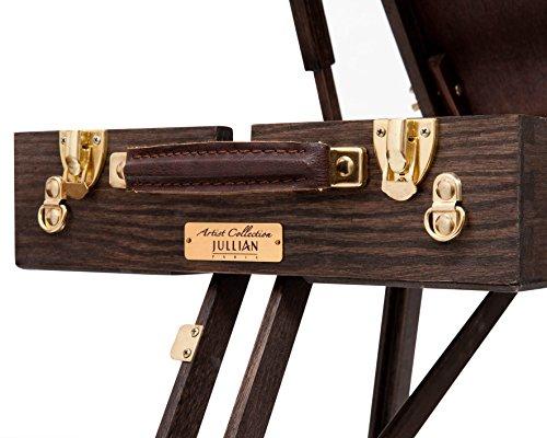 Kofferstaffelei Vintage aus Eichenholz - 3