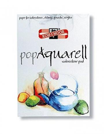 KOH-I-NOOR Künstler Aquarellblock A4 Aquarellpapier 21x29,7 cm Aquarellkarton -