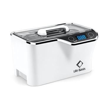 LifeBasis Ultraschallreiniger - Ultraschallreinigungsgerät 600ml Digitaler Ultraschallreiniger Ultraschallgerät 42KHz Ultraschall Gerät für Reinigung von Brille Schmuck Uhren - 1