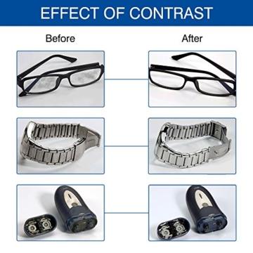 LifeBasis Ultraschallreiniger - Ultraschallreinigungsgerät 600ml Digitaler Ultraschallreiniger Ultraschallgerät 42KHz Ultraschall Gerät für Reinigung von Brille Schmuck Uhren - 7