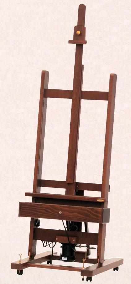 Mabef Atelierstaffelei M/01 (geölt, lackiert, elektrisch)
