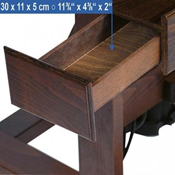 Mabef Staffelei Studiostaffelei elektrisch - mit Schalter und Fußpedal und Fernbedienung - M/01-220V-PRC - 6