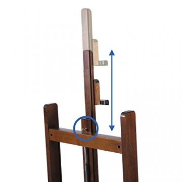 Mabef Staffelei Studiostaffelei elektrisch - mit Schalter und Fußpedal und Fernbedienung - M/01-220V-PRC - 8