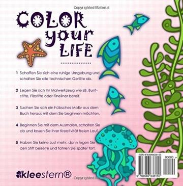 Malbuch für Erwachsene: Wundervolle Meereswelt zum Ausmalen, Entspannen & Ruhen -