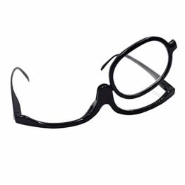 MEGAUK Schminkbrille Make up Brille Lesebrille Presbyopie Brille Sehhilfe Lesehilfe Stärke +3,0 - 1