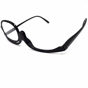 MEGAUK Schminkbrille Make up Brille Lesebrille Presbyopie Brille Sehhilfe Lesehilfe Stärke +3,0 - 5