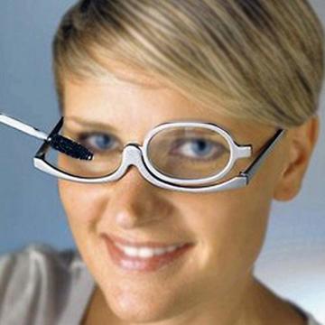 MEGAUK Schminkbrille Make up Brille Lesebrille Presbyopie Brille Sehhilfe Lesehilfe Stärke +3,0 - 8