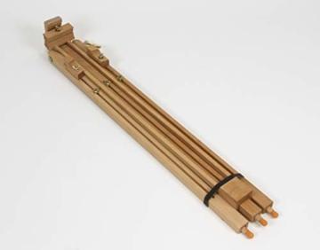 Meister SIENA Feldstaffelei XL aus Buche FSC, für Keilrahmen bis 120 cm hoch, Qualität vom KÜNSTLERPROFI - 3
