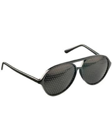 newgen medicals Sehhilfe: Lochbrille (Rasterbrille) - der Augentrainer (Gitterbrille) - 1