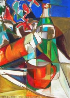 Ölbild, Malerei Stillleben