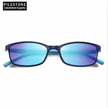 PILESTONE KINDER TP-030 (Typ B) farbenblinde Gläser für Kinder mit roter / grüner Farbenblindheit 6-10 Jahre - mäßiges, starkes und schweres Deutan und mäßiges, starkes Protan - 2