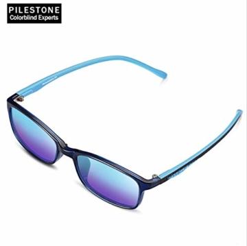 PILESTONE KINDER TP-030 (Typ B) farbenblinde Gläser für Kinder mit roter / grüner Farbenblindheit 6-10 Jahre - mäßiges, starkes und schweres Deutan und mäßiges, starkes Protan - 4