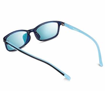 PILESTONE KINDER TP022 (Tippe A) farbenblinde gläser - 6 und 10 Jahren mit rot / grüner Farbenblindheit - Mildes, mäßiges und starkes Deutan und mildes, mäßiges Protan - 3