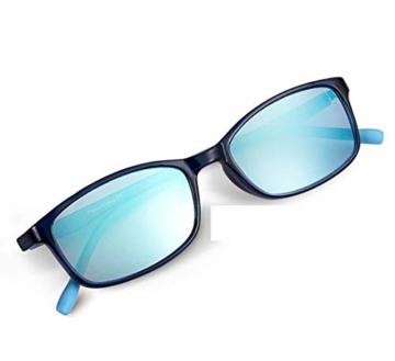 PILESTONE KINDER TP022 (Tippe A) farbenblinde gläser - 6 und 10 Jahren mit rot / grüner Farbenblindheit - Mildes, mäßiges und starkes Deutan und mildes, mäßiges Protan - 6