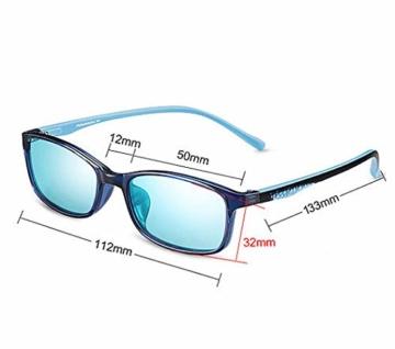 PILESTONE KINDER TP022 (Tippe A) farbenblinde gläser - 6 und 10 Jahren mit rot / grüner Farbenblindheit - Mildes, mäßiges und starkes Deutan und mildes, mäßiges Protan - 7