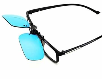 PILESTONE TP-018 (Tippe A) farbenblinde gläser Color Blind Korrekturbrillen Aufsteckgläser für Rot/Grün Color Blind - Mild, Moderate und Strong Deutan und Mild, Moderate Protan - 2