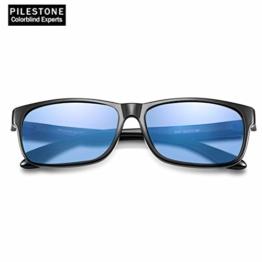 PILESTONE TP-020 Farbenblinde Brillen für Rot / Grün Farbenblinde für milde bis starke Deutan-Farbenblindtypen - 1