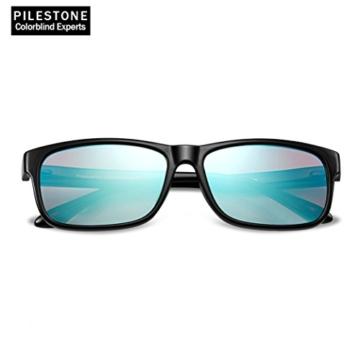 PILESTONE TP-024 (Tippe A) farbenblinde gläser Color Blind Korrekturbrille für rote / grüne Farbenblindheit - Mildes, mäßiges und starkes Deutan und mildes, mäßiges Protan - 2