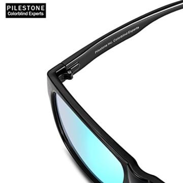 PILESTONE TP-024 (Tippe A) farbenblinde gläser Color Blind Korrekturbrille für rote / grüne Farbenblindheit - Mildes, mäßiges und starkes Deutan und mildes, mäßiges Protan - 5