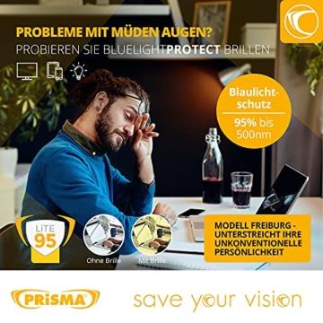 PRiSMA FREiBURG LiTE Blaulichtfilter-Brille - augenschonende Bildschirmarbeit bei Tag und Nacht - F704 N - 2