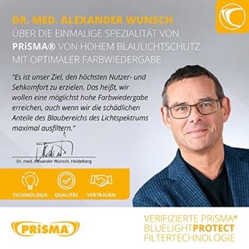 PRiSMA FREiBURG LiTE Blaulichtfilter-Brille - augenschonende Bildschirmarbeit bei Tag und Nacht - F704 N - 4