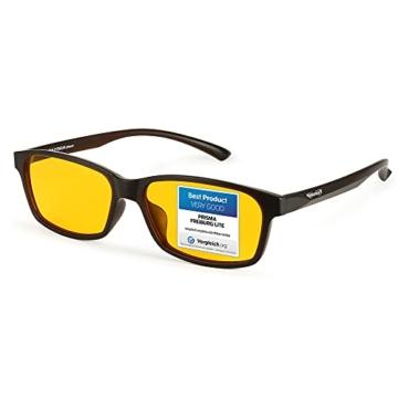 PRiSMA FREiBURG LiTE Blaulichtfilter-Brille - augenschonende Bildschirmarbeit bei Tag und Nacht - F704 N - 1