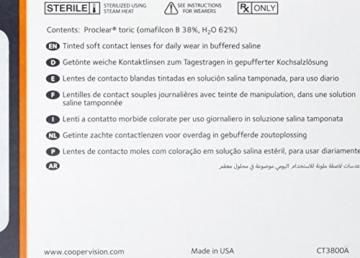 Proclear multifocal Gleitsicht Monatslinsen weich, 6 Stück / BC 8.7 mm / DIA 14.4 / ADD +2.50 N / +3,00 Dioptrien - 2