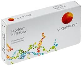 Proclear multifocal Gleitsicht Monatslinsen weich, 6 Stück / BC 8.7 mm / DIA 14.4 / ADD +2.50 N / +3,00 Dioptrien - 1